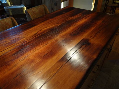 raging river reclaimed lumber countertops