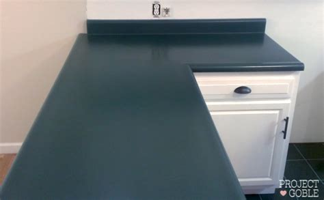 Laminate Colors For Kitchen Cabinets by Kitchen Countertop Paint Transformation Project Goble