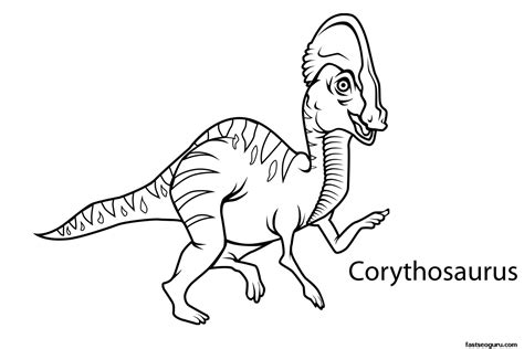 dinosaur coloring pages with names free coloring pages of dinosaur cutouts