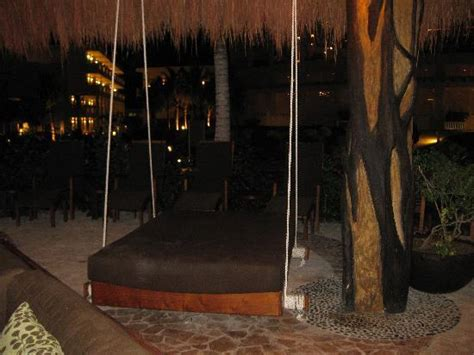 king swing bed made to feel like a king and queen azul sensatori hotel
