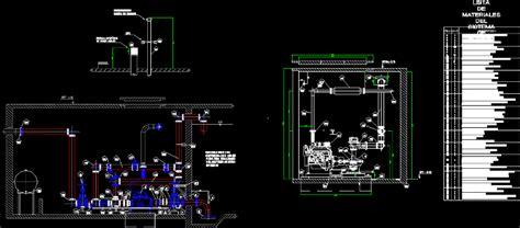 pump room dwg detail  autocad designs cad
