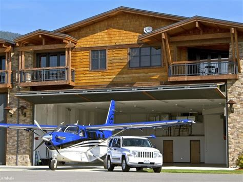 Hangar Design Mobile Home Hangar Homes Living In A Fly In Community Sotheby S