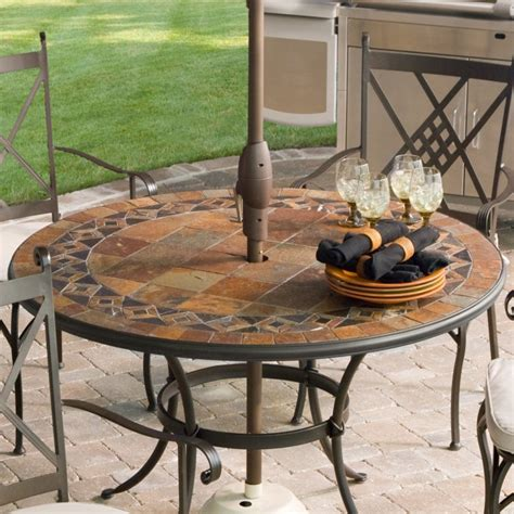 Outdoor Furniture Table by Patio Tables Ideas Homesfeed