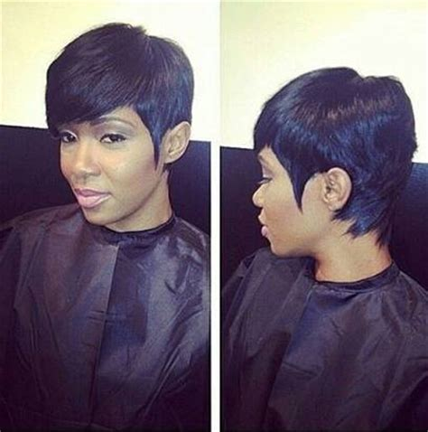 27 Piece With Swoop Black Women | top 7 short and cute 27 piece hairstyles hairstylec