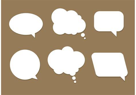 free doodle speech vector free vector speech bubbles free vector