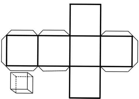figuras geometricas un cubo como armar un cubo con cartulina
