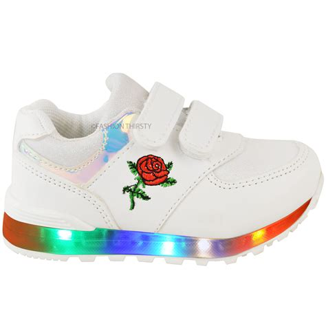 toddler light up shoes new babies led light up trainers strappy
