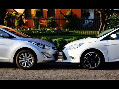 Hyundai Fort by Hyundai Elantra Vs Ford Focus