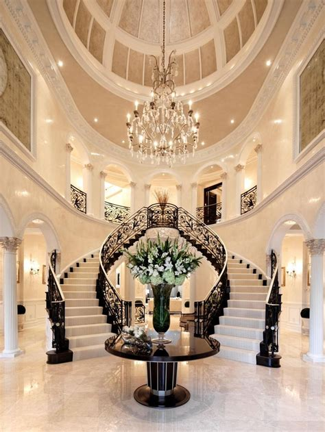 Best 25  Grand staircase ideas on Pinterest   Luxury staircase, Dream mansion and Mansions homes