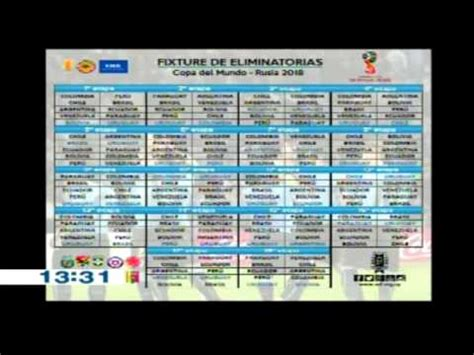 Calendario Eliminatorias Rusia 2018 Oceania Calendario Eliminatorias Rusia 2018 Calendario De