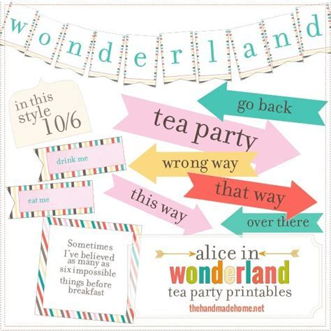 alice in wonderland tea party {no sew tent}   The Handmade Home