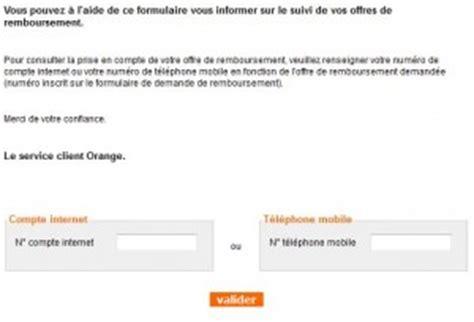 Lettre Demande De Remboursement Orange Demande De Remboursement Orange