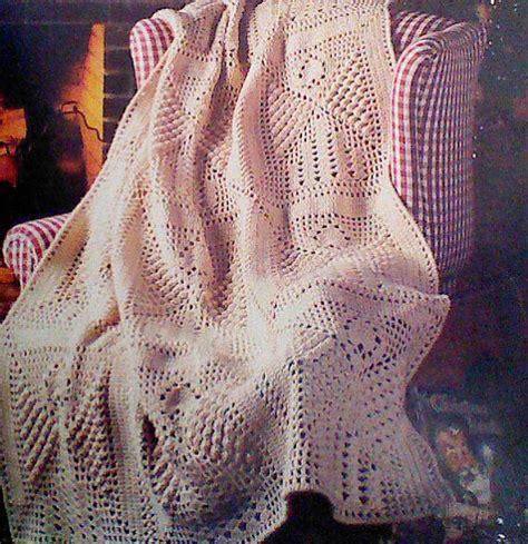 vintage afghan pattern vintage crocheted angel afghan pattern by mamaspatterns on