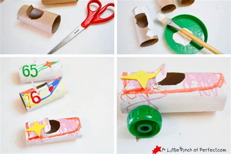 toilet paper roll car craft craft and play toilet paper roll car craft