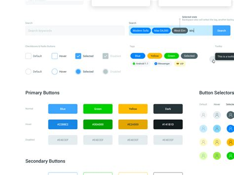 ios design guidelines button size style guide buttons by kerem suer dribbble