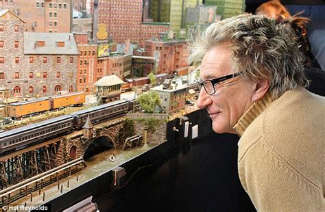 living room train layout rod stewart reveals he books second hotel room for his