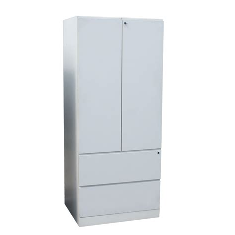 Storage Cabinet White by 71 5 Quot White Knoll Armoire Storage Cabinet Ebay