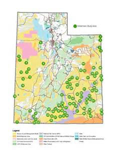 Blm Land Map Utah by Ut Statewide Wilderness Study Report Map