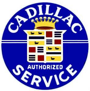 Cadillac Service Aauto Classic Car Logos Bob Hoyts Classic Inspection