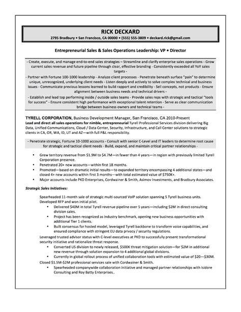 Best Resume Sles For Experienced Software Professionals Sles Quantum Tech Resumes