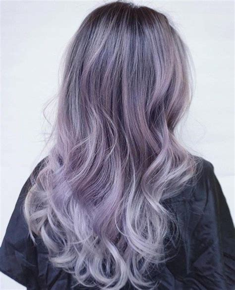 pretty highlights for gray rooted hair the prettiest pastel purple hair ideas purple blonde