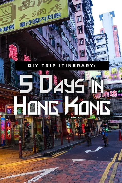 More And More Are Visiting Asia by Diy Trip Hong Kong Itinerary 5 Days More Or Less W