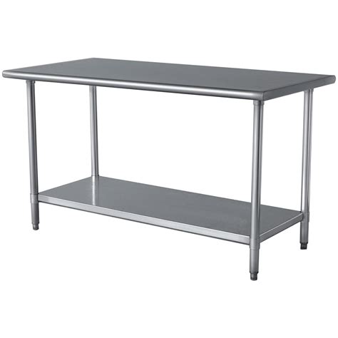 stainless steel kitchen table buffalo tools 174 sportsman stainless steel work table