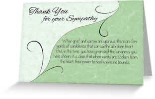 quot thank you sympathy card pastel green with vintage scrolls quot greeting cards postcards by