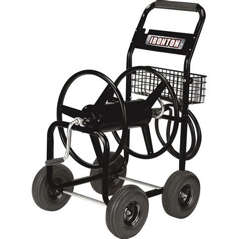 Garden Hose Reel Cart ironton garden hose reel cart holds 5 8in x 300ft hose garden hose reel carts northern