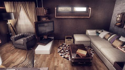 Wohnung Vintage by Modern Home Design Fuses Vintage With