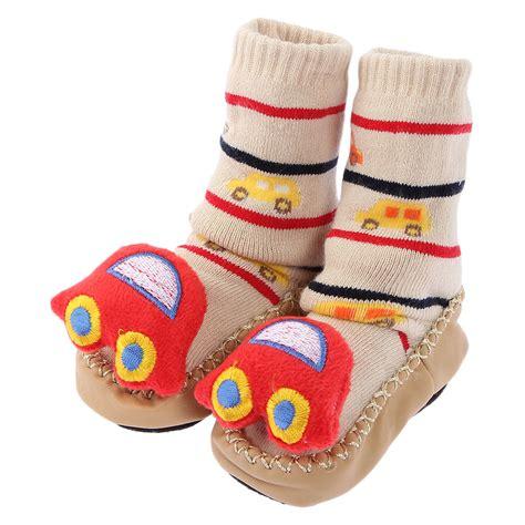 baby slipper socks moccasins 1pair non slip baby infant toddler moccasins shoes socks