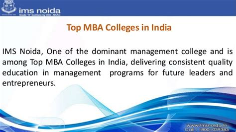 Mba Benefits In India by Best B School In Delhi Ncr