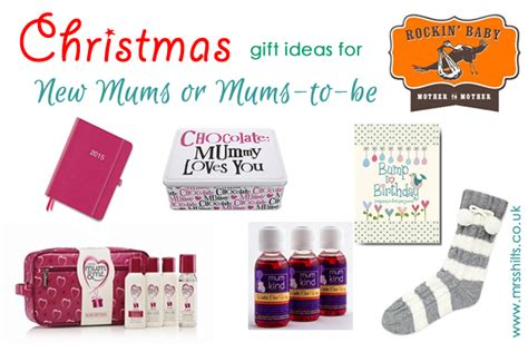 christmas gift ideas for new mums or mums to be life