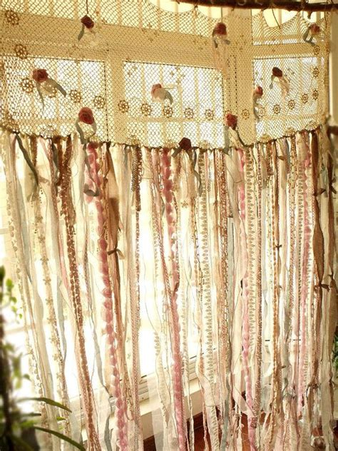 rag quilt curtains 1000 ideas about rag curtains on pinterest boho
