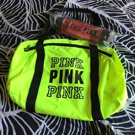 Bottle Bag Adidas Pink Yellow 44 pink s secret handbags pink s