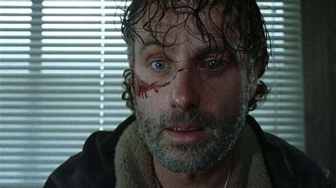 andrew lincoln rick grimes nose day actually the walking dead lead andrew