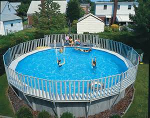 how big is a pool above ground pool photos niagara pools and spas