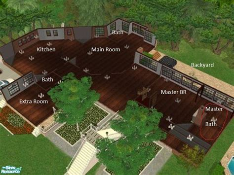 Large House Floor Plans by Narutofan S Neverland Ranch Main House