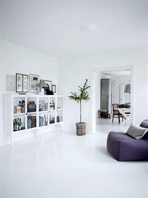 white home interiors boligindretning stue