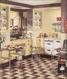 1930s kitchen floors 1936 armstrong linoleum flooring ad for a modern yellow kitchen vintage design inspiration