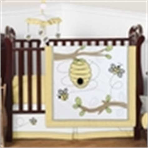 Honey Crib Bedding by Honey Bee Baby Bedding 9pc Crib Set By Sweet Jojo