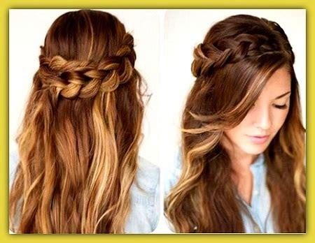 6 peinados faciles rapidos y bonitos para ir a youtube peinados sencillos y bonitos