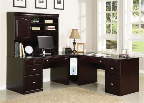 home office desk sets home office sets cape office set espresso af 92031 set