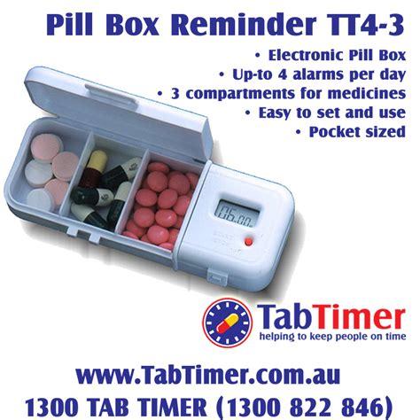 Capsul Medicine Box With Alarm pill box reminder tabtimer tt4 3 electronic pill box alarm