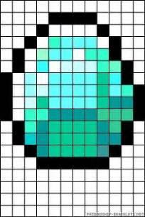perler beads minecraft and alpha patterns on pinterest