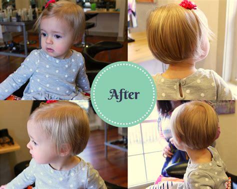 one year old hair cut toddler girl bob www alovelyliving com pinterest
