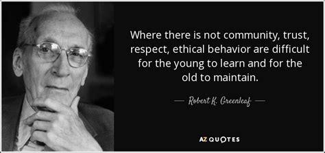 robert  greenleaf quote     community