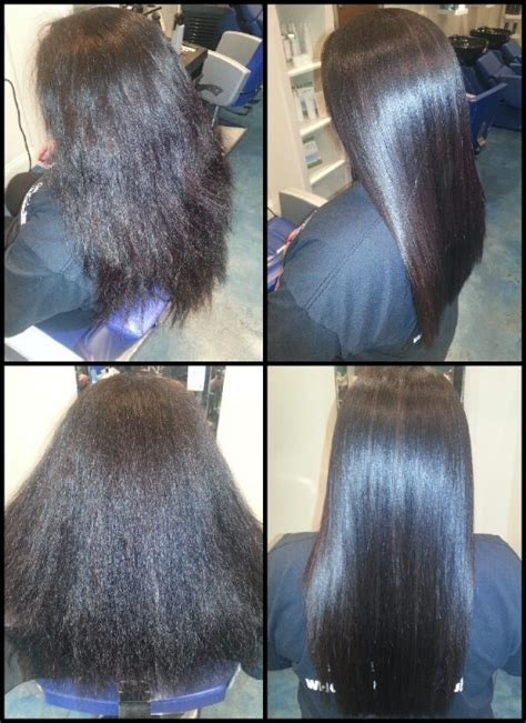 keratin treatment on black hair before and after keratin smoothing treatment before after pattym