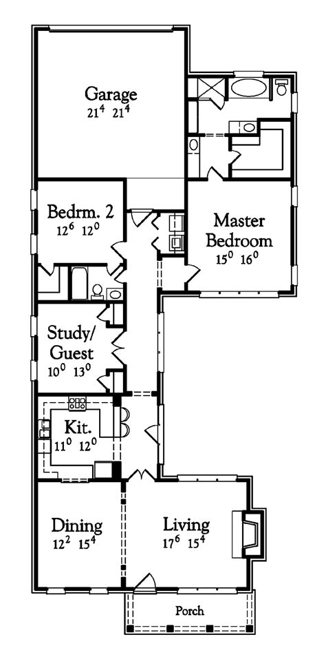 Unique One Story Floor Plans | nice one story houses unique one story house plans