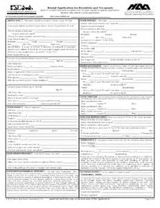 Apartment Association Application Residents Occupants Fill Printable Fillable